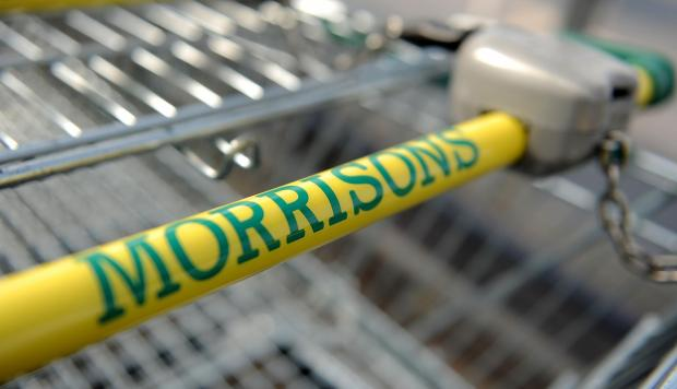 BANNED: Morrisons has had an advert for its burgers barred