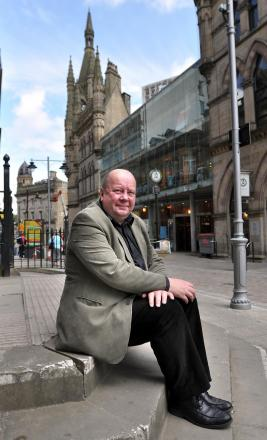 SUPPORT: Bradford Civic Society chairman Alan Hall