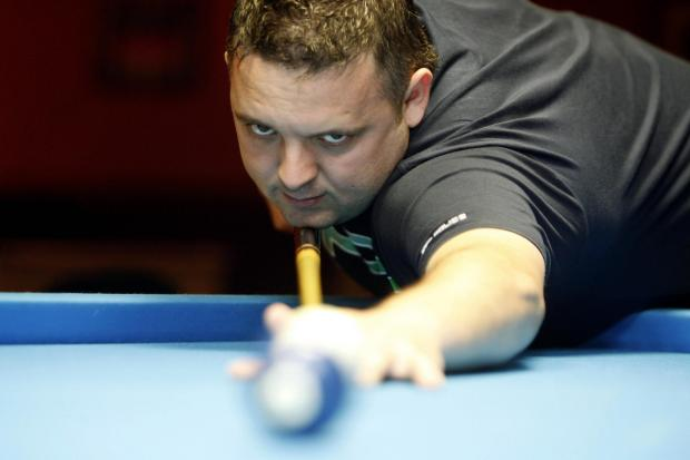 Chris Melling's cue went missing in transit – but he still won