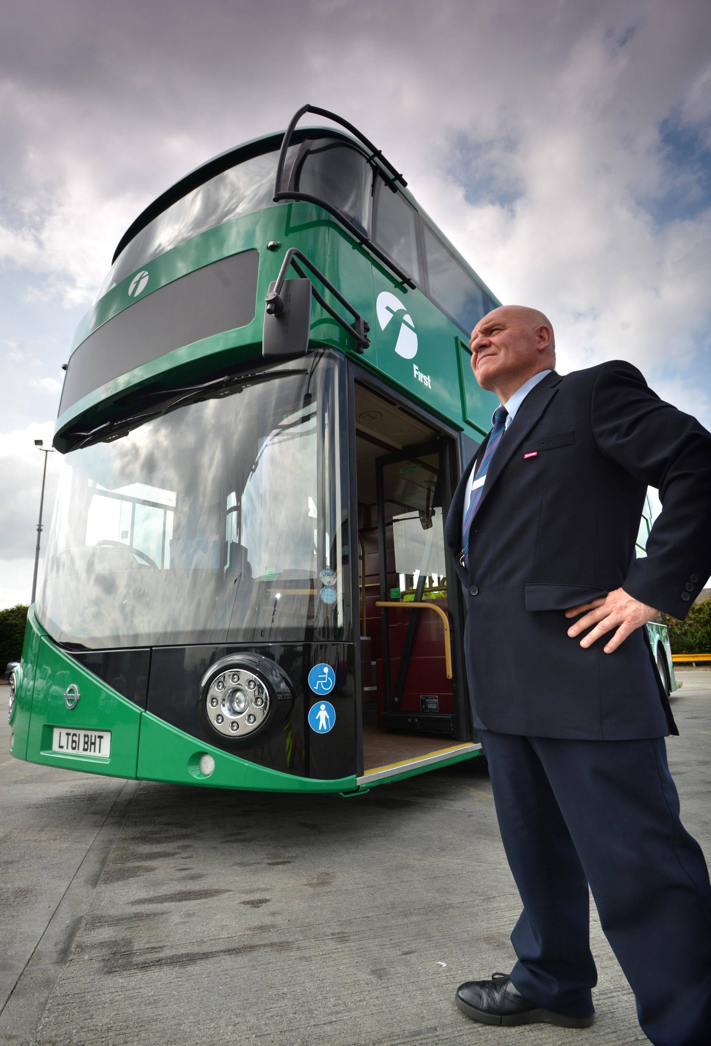 VIDEO: Public asked if they want new-style bus in Bradford