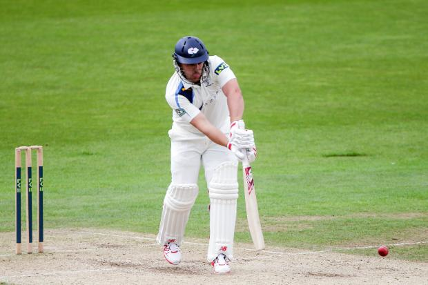 Aaron Finch has tightened up his technique batting in Yorkshire's middle order