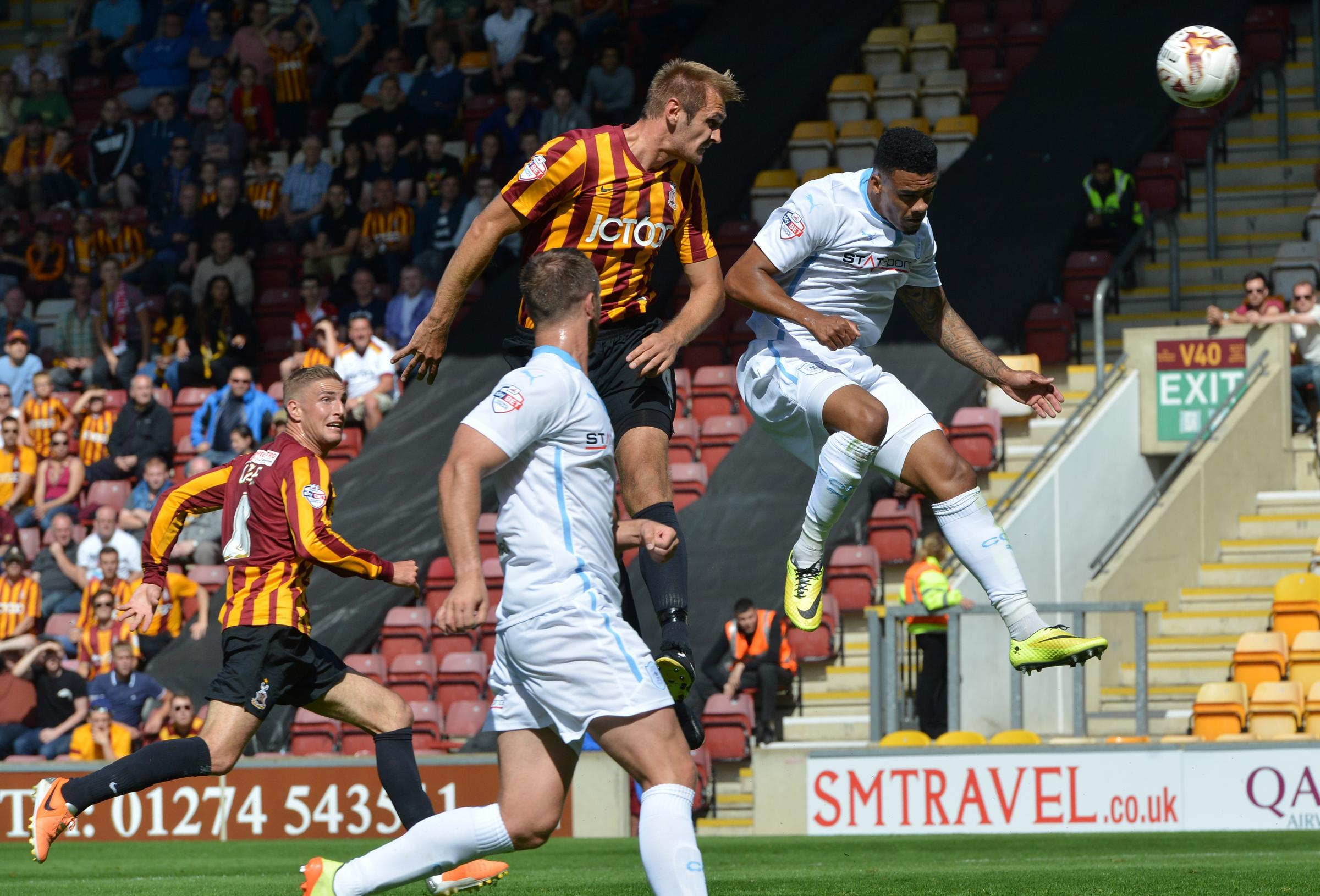 Hanson display leaves Bantams fans light-headed but it's a dark day for Pressley