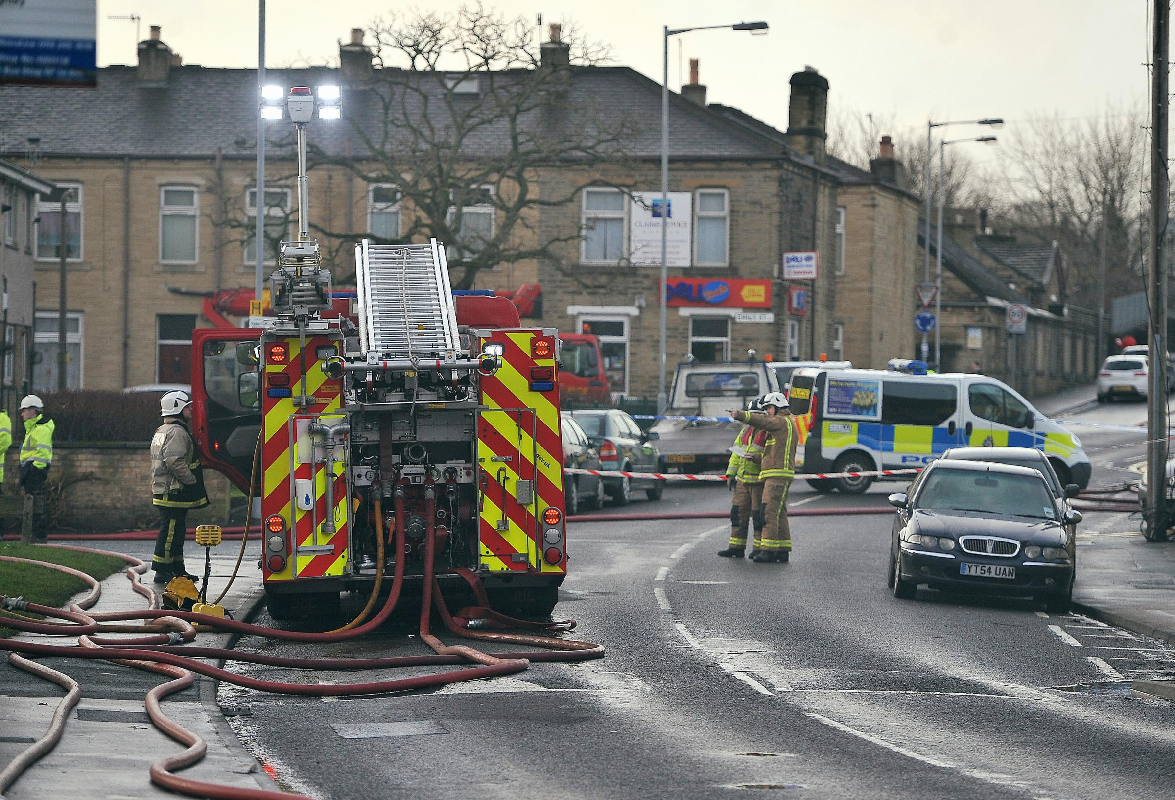 Third of violent attacks on West Yorkshire firefighters happen in Bradford as crews targeted 76 times
