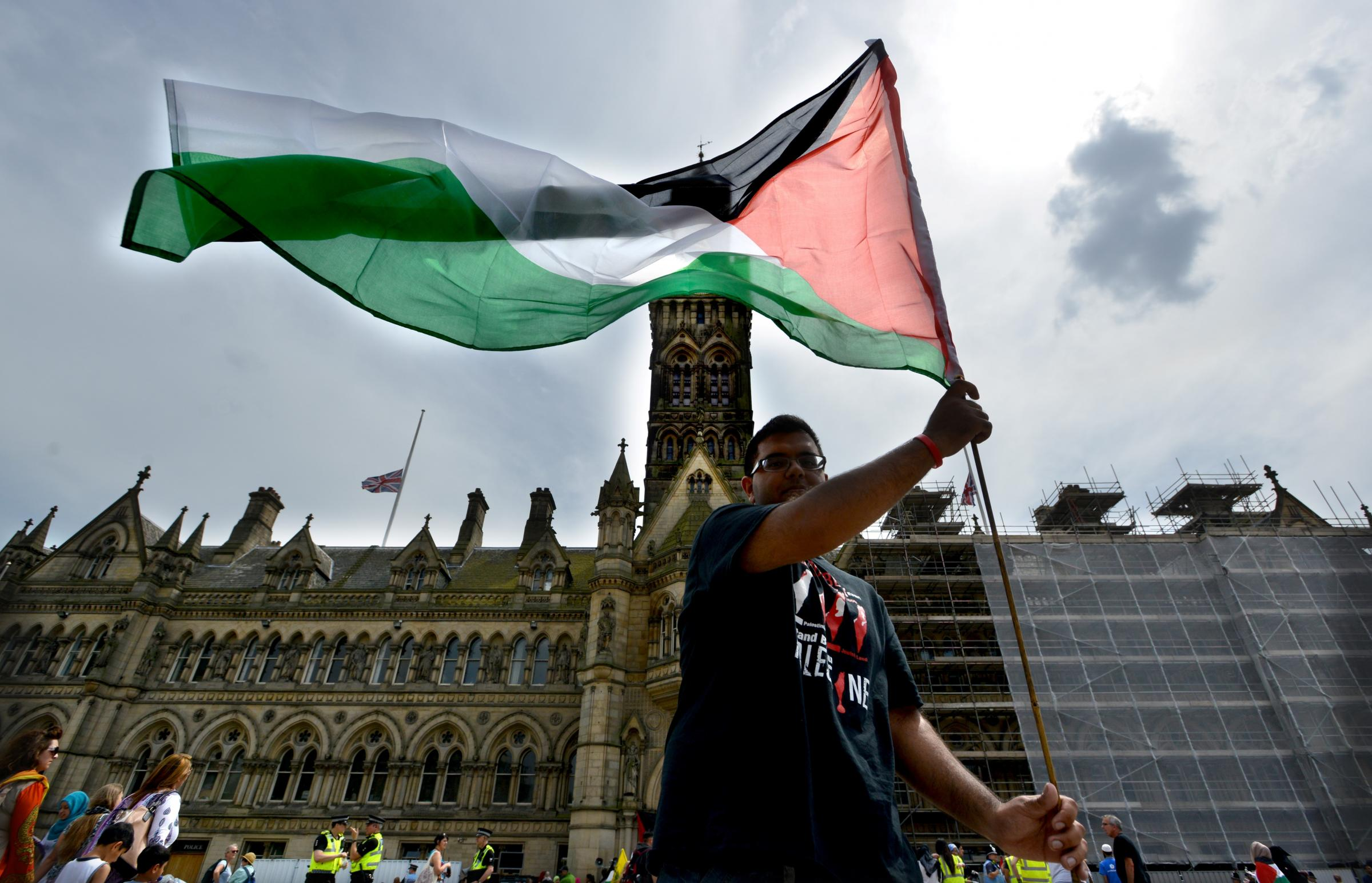 Political groups divided by call to fly Israeli flag outside Bradford City Hall
