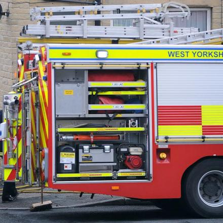 Firefighters were called to kitchen blaze in Pudsey