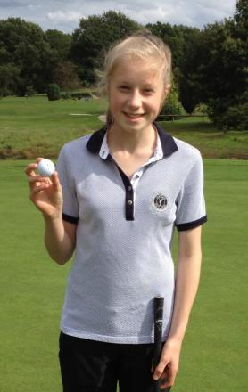 Northcliffe ace: Olivia Pearson
