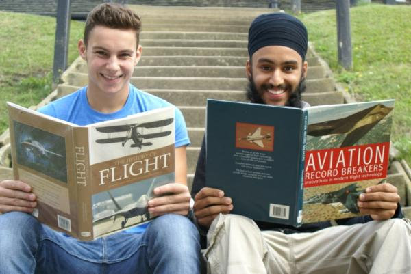 High Flying pupils set for aviation careers after A-levels success