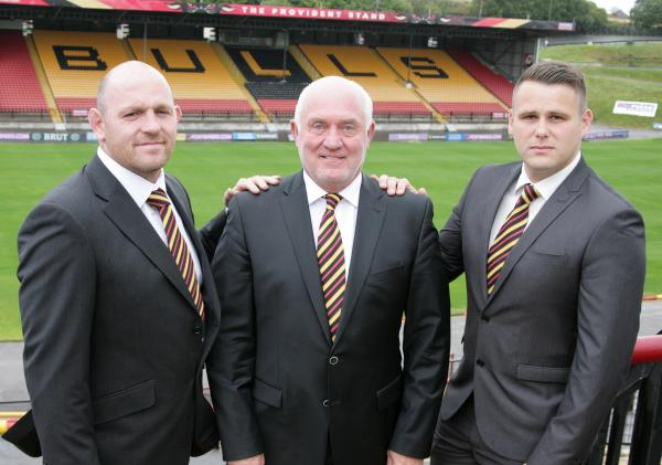 Bradford Bulls create an Odsal 'boot room' as Rob Parker joins management dream team