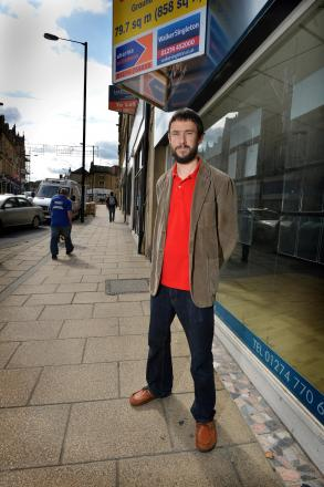 RECORD DEAL: Keith Wildman who hopes to open a new vinyl cafe