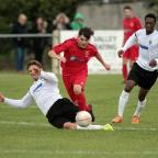 Bradford Telegraph and Argus: Zack Dale's run for Silsden is halted as they lost to Consett in the FA Cup