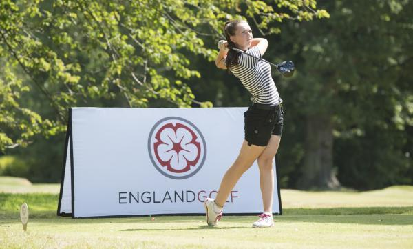 Megan Clarke showed her potential by winning the WPGA event at Forest Pines. Picture: Leaderboard Photography