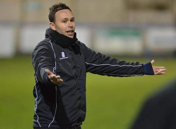 Guiseley boss Mark Bower
