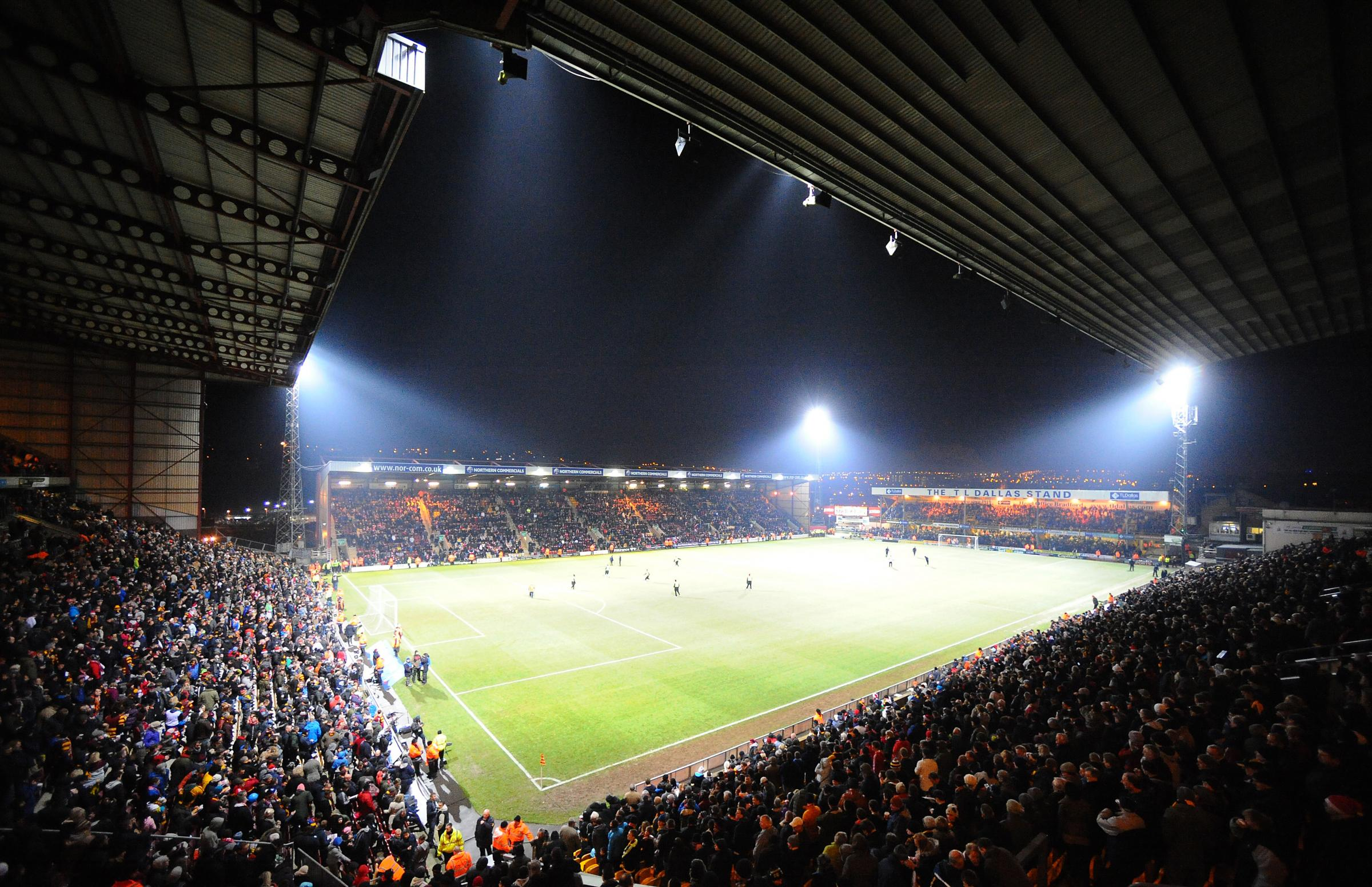 Fans packed into Valley Parade for the latter stages of the Capital One Cup run two season ago and another huge crowd is expected to watch City take on neighbours Leeds
