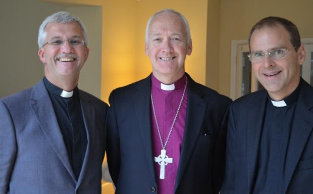 The Reverend Jonathan Gibb, The Right Reverend Nick Baines, the Reverend Toby Howarth.
