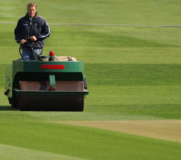 Yorkshire's head groundsman Andy Fogarty will be showing the local IOG branch round his facility