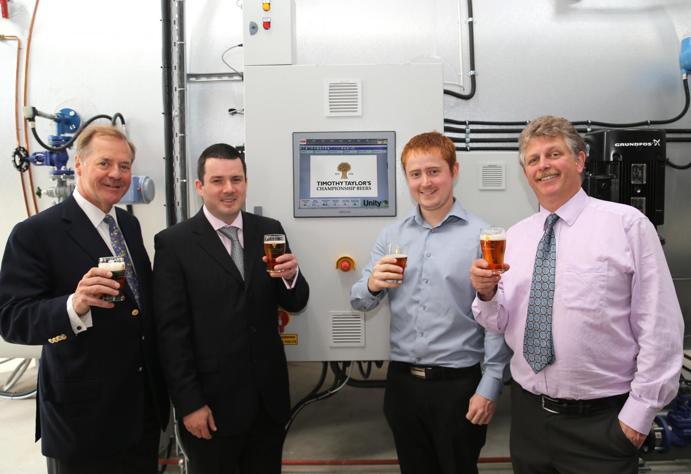 Boss of Keighley brewer Timothy Taylor bows out after another champion success