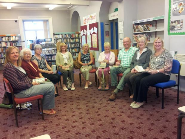 Mirfield Library reading group