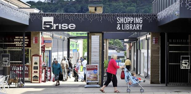 VENUE: The 5 Rise shopping centre in Bingley