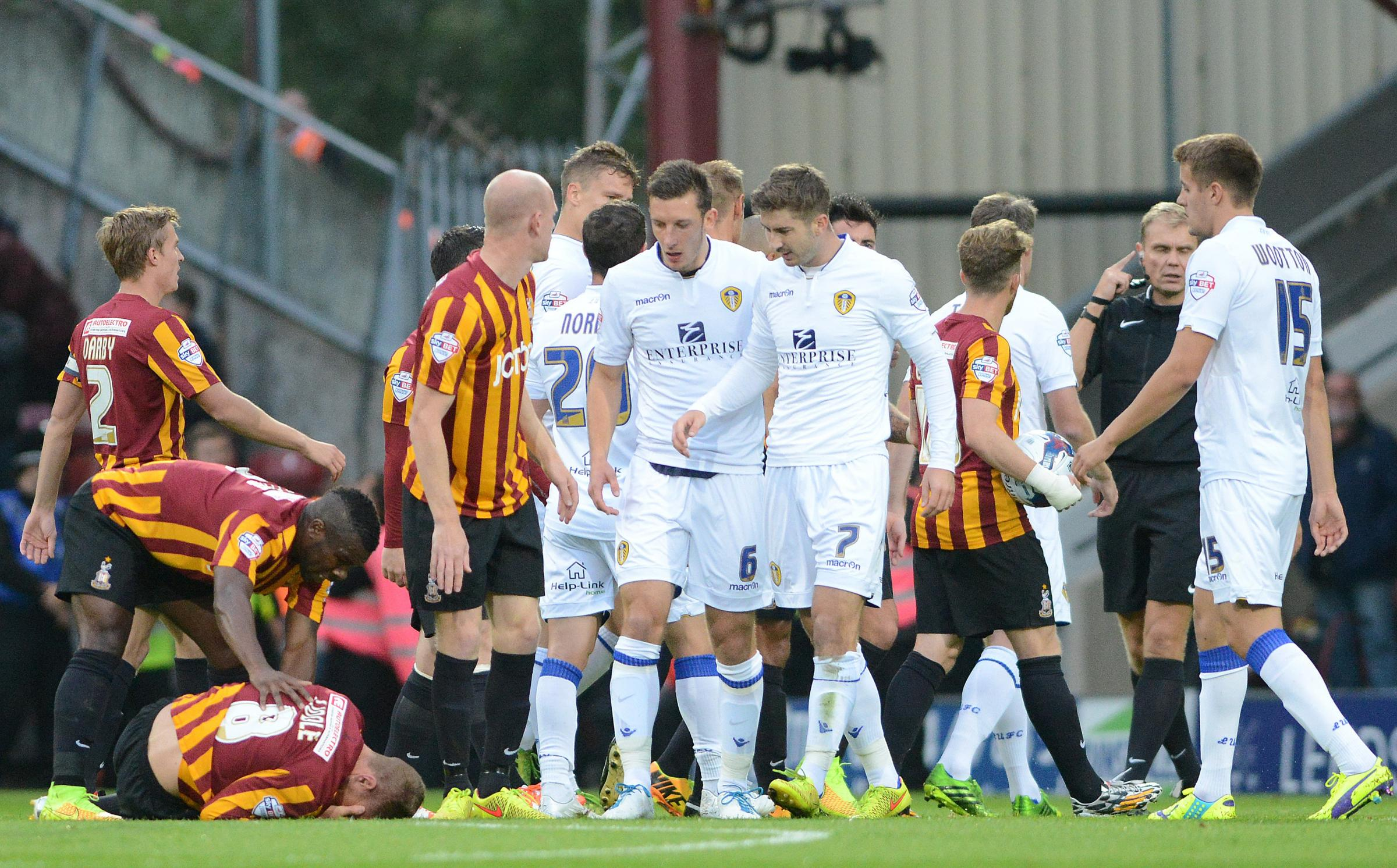 Bradford City told to forget Leeds and focus on Rochdale
