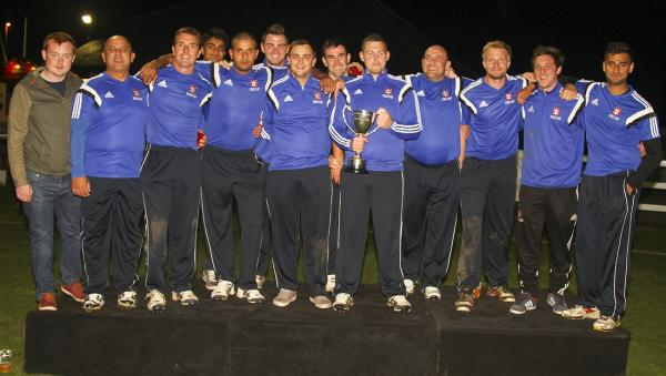 Callum Geldart's fireworks light up Pudsey Congs' triumph in record-breaking T20 final