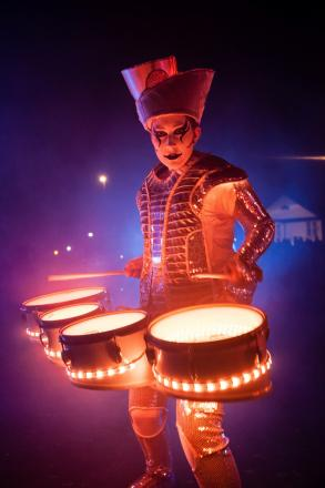Spark! will be one of the street theatre acts for the Spellbound show at City Park on Saturday, October 2.