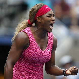 Three and easy for Serena