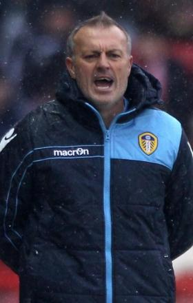 Leeds United's caretaker Neil Redfearn