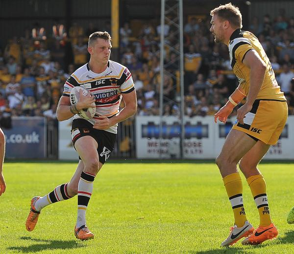 Bradford Bulls' hopes of achieving five-year best done four but three-try Gaskell provides some consolation