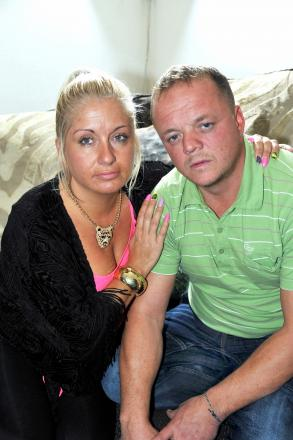 AGGRIEVED: David Tait and his wife Marcia