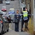 Bradford Telegraph and Argus: A police cordon in Buck Street after reports of a robbery