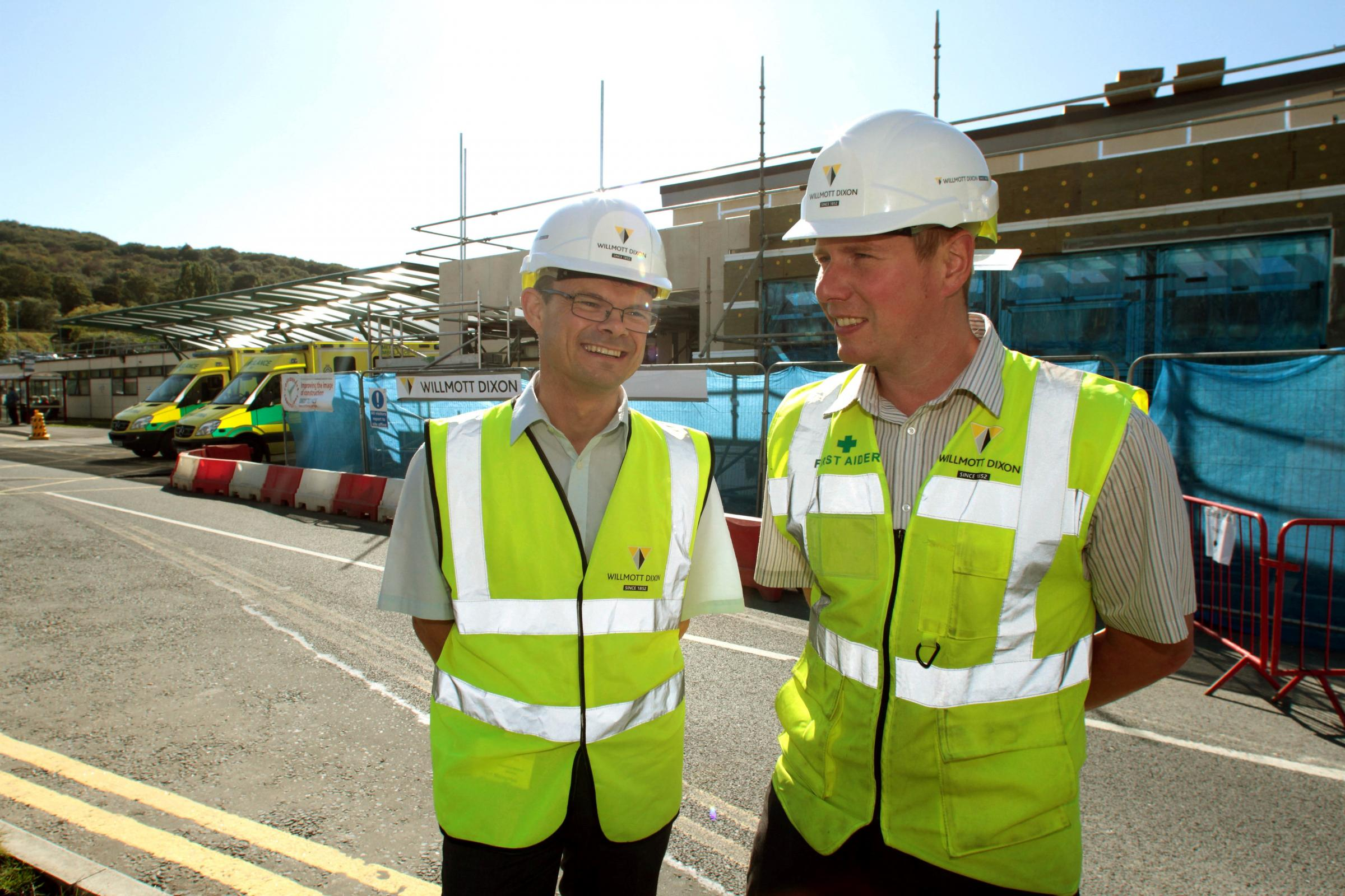 Work on new £6.3m Airedale Hospital Emergency Department on schedule