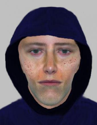 E-fit of suspect released after Bradford robbery