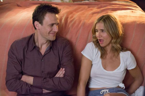 Annie (Cameron Diaz) and Jay (Jason Segel) try to put the spark back in their relationship in Sex Tape