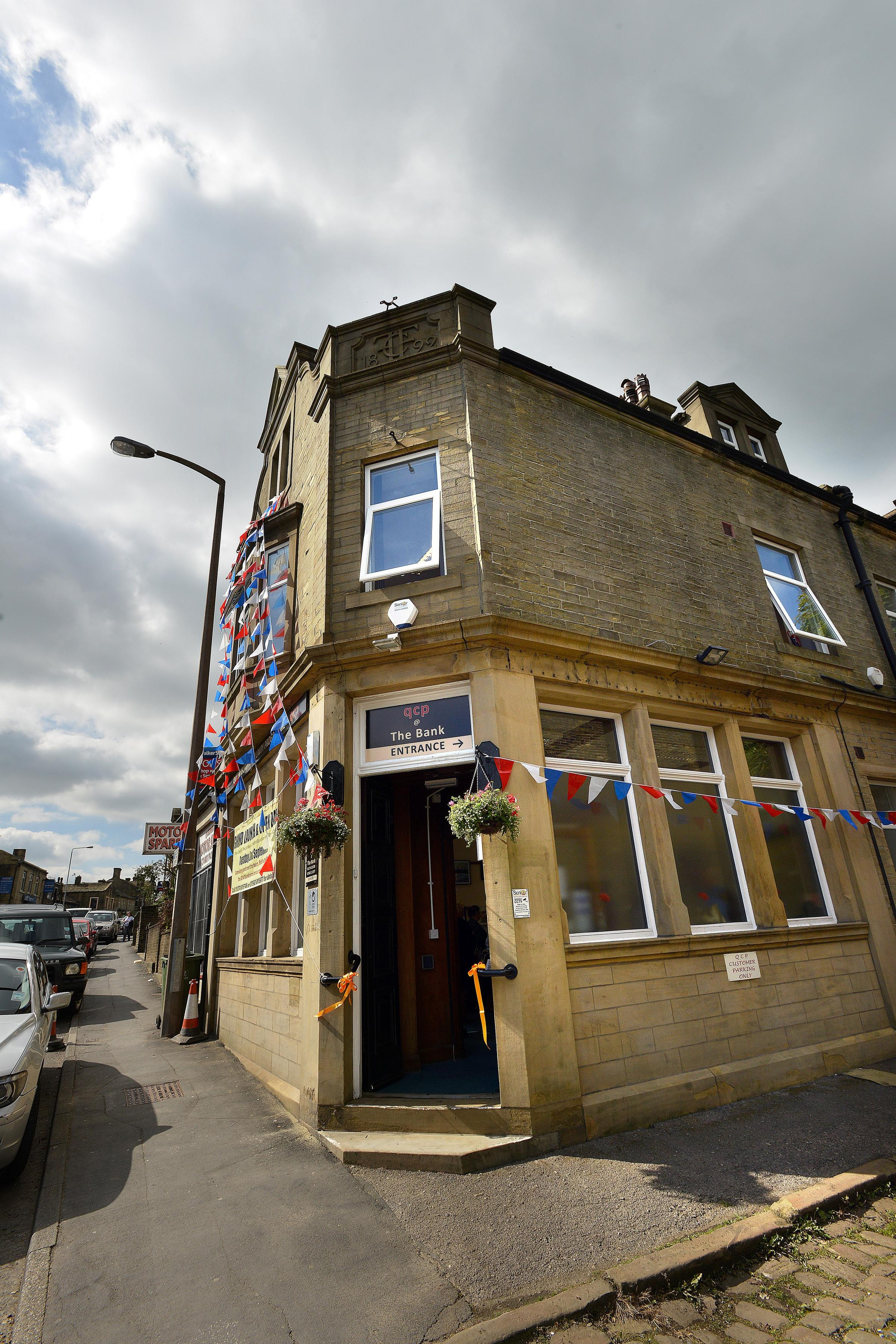 Community learning centre opens in former Queensbury bank