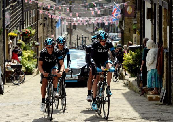 GRAND SUCCESS: The Tour de France in Yorkshire was a boost for the county's hoteliers