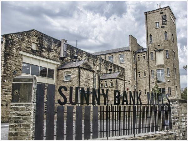SUNNY OUTLOOK: The Sunny Bank Mills complex in Farsley is now fully let following a £330,000 refurbishment