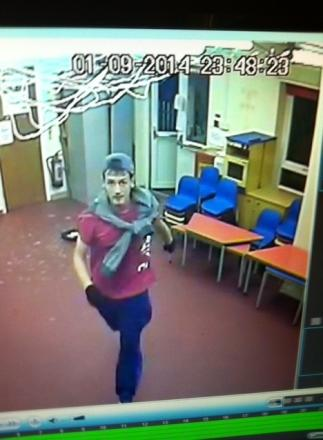 SPOTLIGHT: The CCTV captured by cameras at Parkside Community Centre.