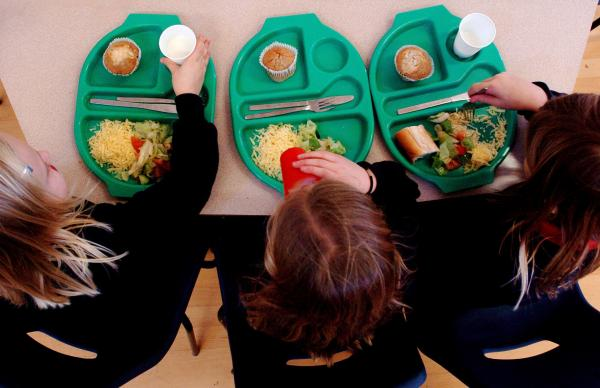 Now more children than ever are able to have a free school meal, under a new Government scheme to provide children in lower primary school classes with a hot lunch