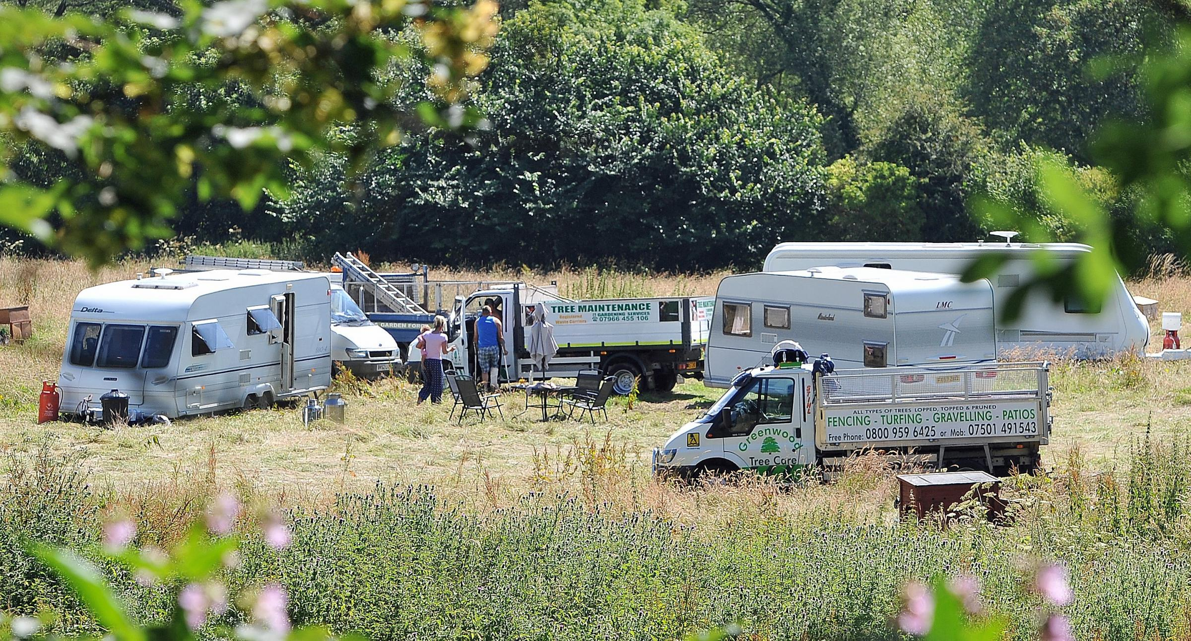 MP urges Council to make evicted travellers foot the bill