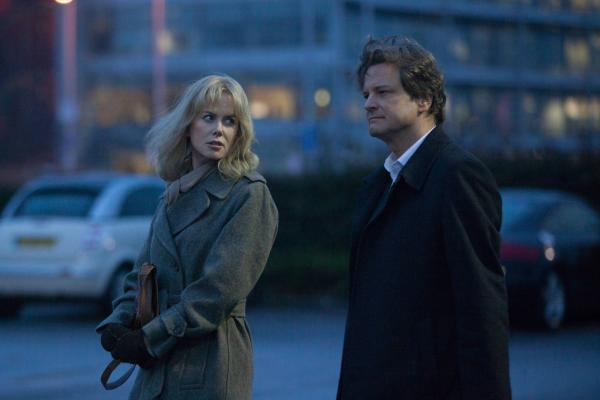 Nicole Kidman as Christine Lucas and Colin Firth as Ben Lucas in Before I Go To Sleep