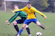 Marcus Harper got Albion Sports Reserves' consolation goal