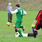 Bradford Telegraph and Argus: Matthew Tinsley scores for Division 1A leaders Undercliffe Cricket Club in their 3-1 win at Upper George Wibsey