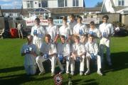 Buttershaw St Paul's, who won the Bradford Junior League's Under-15 Cup final on home turf