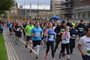 Participants in the City Runs today