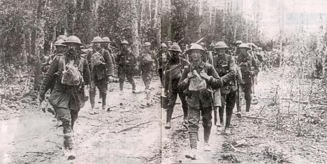 Bradford Territorials on the Somme