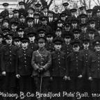 Bradford Telegraph and Argus: The Bradford Pals enlisted at the Bradford Mechanics' Institute.