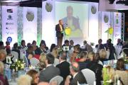 Telegraph & Argus editor Perry Austin-Clarke speaks at the 2014 Schools Awards ceremony