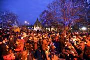 Crowds flocked to last year's lights switch-on