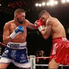 Bradford Telegraph and Argus: Tony Bellew, left, defeated Nathan Cleverly, right, in Liverpool