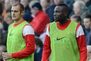 "Francois Zoko, right, says Phil Parkinson has the ""tools"" on the bench with himself and James Hanson"